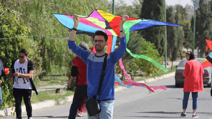 Fly kites with happyunion in the dnaunion group